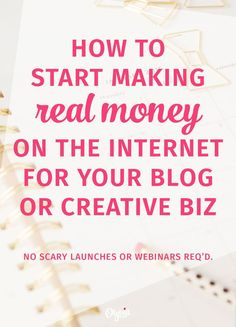 Want to start making money online for your blog or creative business, but you're not ready to launch a big product or… http://itz-my.com