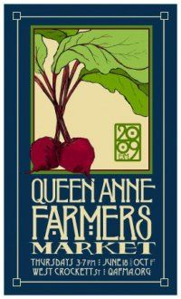 """Queen Anne Cute Shops   The art is local but the appeal is clearly universal,"""" she wrote ..."""
