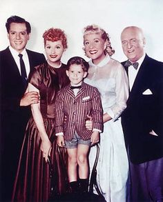 """The Cast of """"I Love Lucy"""" by Lucy_Fan, via Flickr"""