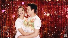 """""""Sweetness overload Thank you for the Love // Team Forever ❤️ ABSCBN Christmas Station ID 2015 ❤️ #TeamForever #enriquegil #lizquen #lizasoberano 