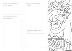 Page 2 of 2 for trifold activity sheet