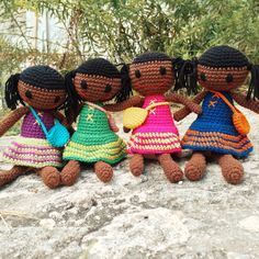 Crochet Dolls handmade in Moldova.