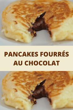 Pancake Recipes 94977 Pancakes with chocolate filling - Page 2 - Recipes Of The World Pancakes Nutella, Greek Yogurt Pancakes, Almond Flour Pancakes, Cinnamon Roll Pancakes, Low Carb Pancakes, Chocolate Chip Pancakes, French Toast Bake, French Toast Casserole, Desserts