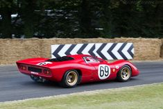 Ferrari 312 P Berlinetta (Chassis 0872 - 2015 Goodwood Festival of Speed) High Resolution Image