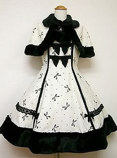 Angelic Pretty / Jumper Skirt / Ribbon Wool JSK with Cape