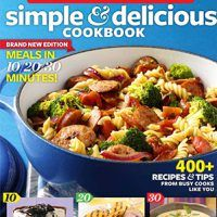 Taste of Home Simple & Delicious Cookbook All-New Edition!: 400+ Recipes & Tips, EPUB, 1617651559, cookingebooks.info