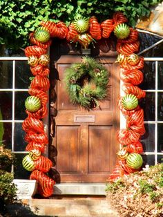 Christmas Door Decorations 4