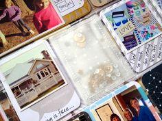 Week twenty. www.polkadotcreative.com.au Using the One of my mini kits from www.polkadotcreative.com.au Confetti pockets!
