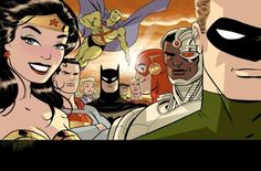 Justice League #37 cover by Darwyn Cooke