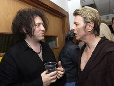 Robert Smith and Bowie interviewed each other   THE CURE
