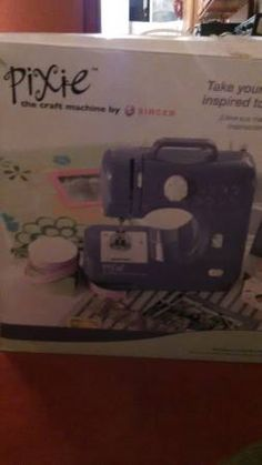 Pixie Sewing Machiine in COZ1952's Garage Sale in Shelby Twp , MI for $20.00. Singer Sewing Co. Pixie Retails at Kmart 39.00Yours for 25Cute little sewing machine good for first time sewers Bobbin sticks once in a whileCash only You Pick up
