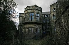 Spooky Winstanley Hall, known by some as Poseidon Hall, was built in a Tudor style in the 16th Century for a wealthy family. Several extensions were added since the original build most notably in the early 1800′s when it was altered extensively into a Jacobean style. The Hall was abandoned in the 1960′s and has fallen into serious disrepair.#haunted #ghosthunts www.deadlive.co.uk