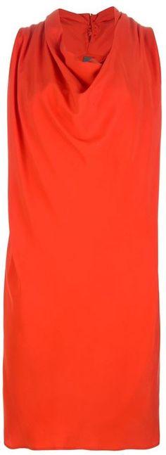 Lorena Antoniazzi cowl neck dress on shopstyle.com.au