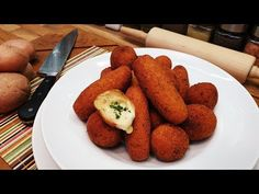 Burgonya krokett , sajtos krokett / Szoky konyhája / - YouTube French Toast, Cooking, Breakfast, Ethnic Recipes, Youtube, Food, Cucina, Breakfast Cafe, Kochen