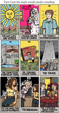 If Tarot Cards Actually Predicted the Future [COMIC] | Cracked.com