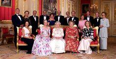 Queen Margrethe II, Queen Elizabeth II, Queen Silvia, Queen Beatriz, Queen Sofía, Queen Sonja and others royals