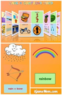 fun way to help kids learn new words based on words they already know, via pictures #kidsapps