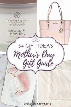 Mother's Gift Guide: 54 Gift Ideas | It's all about MOM! And she's gonna love these gift ideas. No matter what the Mom in your life is into, we have you covered. Pin now, shop tonight!   #mothersday #mom