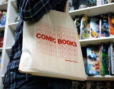 Fancy - Comic Book Tote Bag