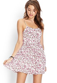 Floral Cami Dress | FOREVER21 - 2000086454 - http://AmericasMall.com/categories/juniors-teens.html