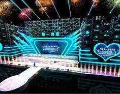 concert stage design 02 3d
