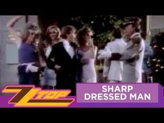ZZ Top - Sharp Dressed Man (OFFICIAL MUSIC VIDEO) (except Johnny Depp, he can wear a potato sack and look good!)
