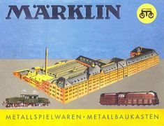 Marklin trains from West Germany. A favorite from my childhood, wrapped up in a box somewhere!