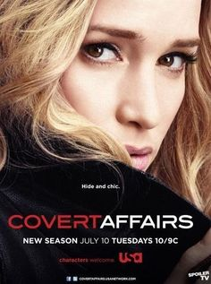 Covert Affairs  A young CIA operative/trainee, Annie Walker, is sent into the field to work for the DPD (Domestic Protection Division)...