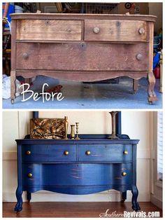 Ιδέες για ανακατασκευή των παλιών σας επίπλών!