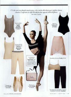 adidas, adidas by stella mc cartney, vanity fair, pe13, ballet, sport, fashion, no words, redazionale, www.adidas.com