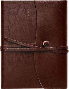Love the classic look of this leather-bound journal. Cavallini Toscana Journal - $32.95