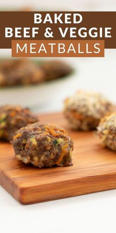 Oven-baked beef meatball recipe, healthy for the family with added vegetables, perfect for family dinners and baby-led weaning. Get this delicious recipe here at My Kids Lick Healthy Family Dinners, Family Meals, Easy Meals, Beef Meatball Recipe, Veggie Bites, Veggie Meatballs, Led Weaning, Oven Baked, Tray Bakes