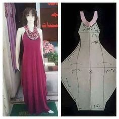Sewing Clothes, Diy Clothes, Clothes For Women, Blouse Dress, Diy Dress, Clothing Patterns, Sewing Patterns, Evening Dress Patterns, Cocoon Dress