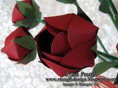 Tasteful Trim paper roses