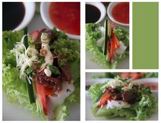 Lettuce and Rice Noodle Packages