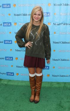 Olivia Holt - Mattel Party on the Pier 2012
