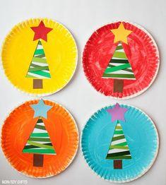 Artesanatos para Natal com Pratos de Papelão Kids Crafts, Christmas Crafts For Kids, Christmas Time, Diy And Crafts, Xmas, Research Projects, Preschool, November, Winter Hats