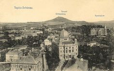 Czech Republic - Synagogue in Teplice Old Photographs, Old Photos, Old Postcards, Rotterdam, Czech Republic, Childhood Memories, Big Ben, Europe, Retro