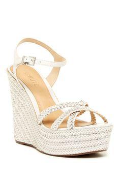 Monicah Woven Wedge Sandal
