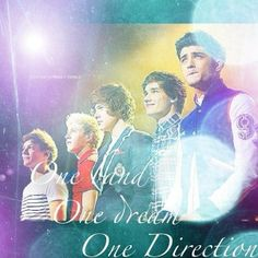 One band, one dream, One Direction.