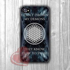 can't drown my demons-NY for iPhone 6S case, iPhone 5s case, iPhone 6 case, iPhone 4S, Samsung S6 Edge