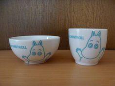 北欧 ムーミン 小さめ茶碗 湯のみ ヤマカ製 ¥500円 〆03月06日