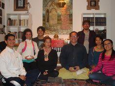 Dharma en el mundo, recorrido en imágenes. Sangha (comunidad) de budismo laico en México D. F.