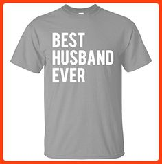Best Husband Ever T Shirt Funny Wedding Married Man Tee Gift T Shirt X-Large Sports Gray