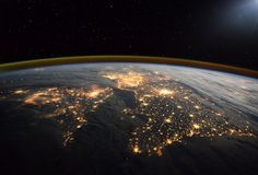 Tim Peake posts stunning images of Earth from Space. Picture