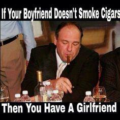 Thierry et ses cigares: J'aime bien...