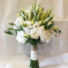 Wedding bouqet  #eustoma #wedding bouqet Wedding Bouquets, Wedding Flowers, Wedding Dresses, Flower Ideas, Wedding Styles, Gemstone Rings, Weddings, Rose, Party