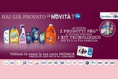 Scopri come vincere un kit di prodotti Samsung grazie alla tua spesa da Carrefour e alla qualità dei prodotti P&G