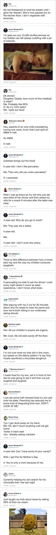 Parents vs. Mealtime