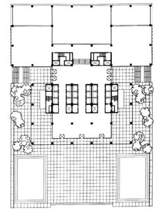 Seagram Building Plan The seagrams building - new york, ny : citynoise.org